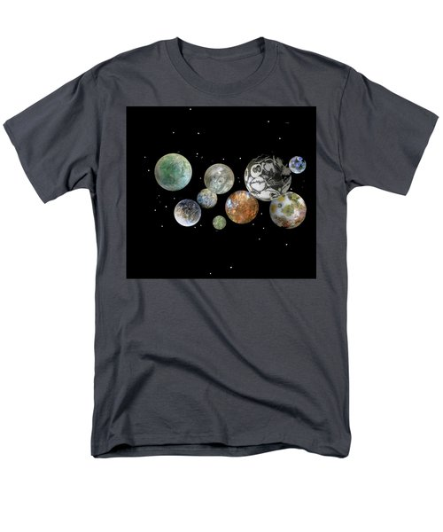 Men's T-Shirt  (Regular Fit) featuring the photograph When Worlds Collide by Tony Murray