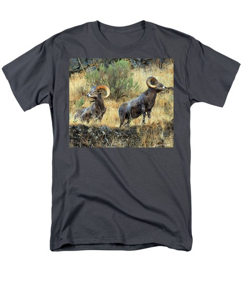Where Did They Go? Men's T-Shirt  (Regular Fit) by Steve Warnstaff