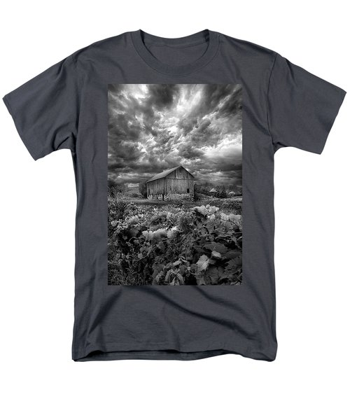 Where Ghosts Of Old Dwell And Hold Men's T-Shirt  (Regular Fit) by Phil Koch