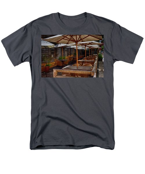 Where To Sit.... Men's T-Shirt  (Regular Fit) by Tricia Marchlik