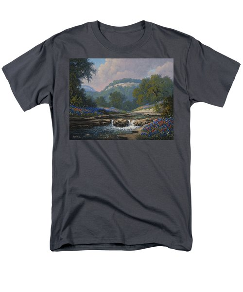 Whispering Creek Men's T-Shirt  (Regular Fit)