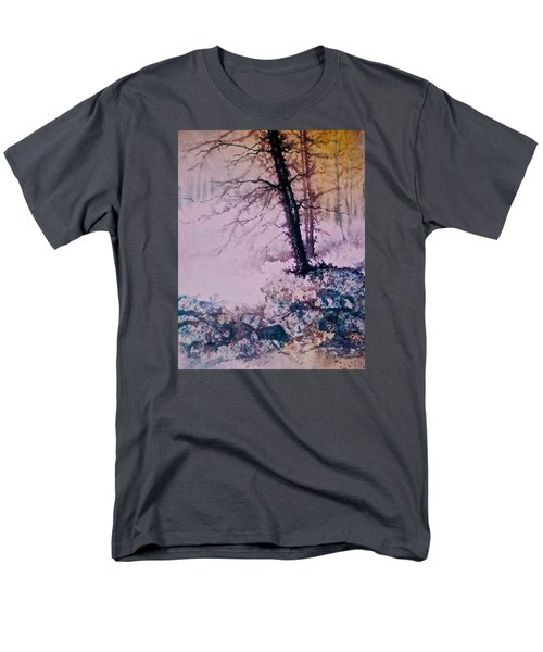 Whispers In The Fog  Partii Men's T-Shirt  (Regular Fit) by Carolyn Rosenberger