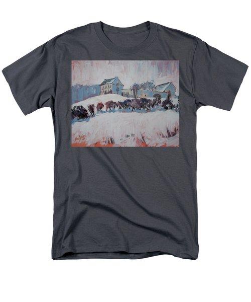 White Hill Zonneberg Maastricht Men's T-Shirt  (Regular Fit) by Nop Briex