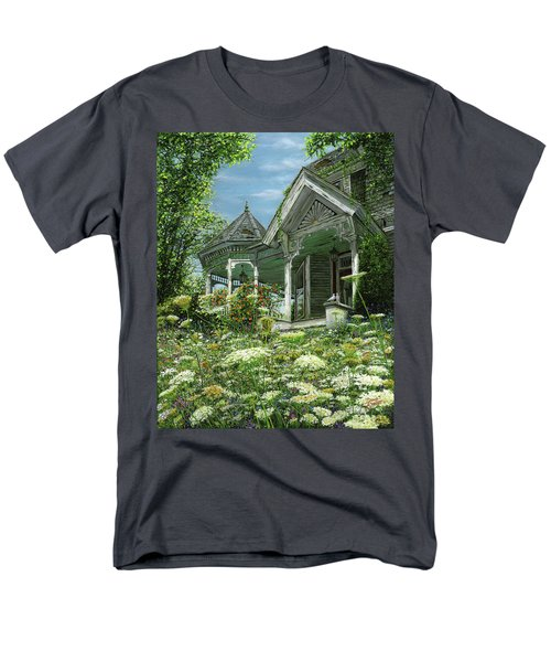 White Lace And Promises Abandoned Men's T-Shirt  (Regular Fit) by Doug Kreuger