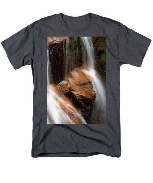 Men's T-Shirt  (Regular Fit) featuring the photograph White Mountains Waterfall by Jason Moynihan