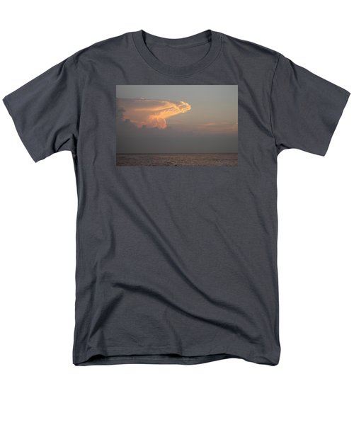 Men's T-Shirt  (Regular Fit) featuring the photograph White Pink Clouds by Robert Banach