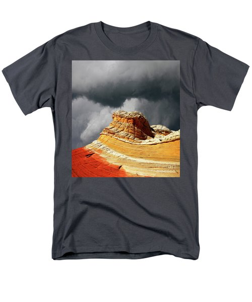 Men's T-Shirt  (Regular Fit) featuring the photograph White Pocket 35 by Bob Christopher