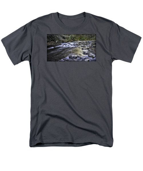 White Water Men's T-Shirt  (Regular Fit) by Walt Foegelle
