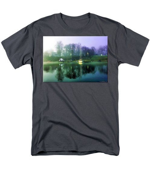 Men's T-Shirt  (Regular Fit) featuring the photograph White's Cove Awakening by Brian Wallace
