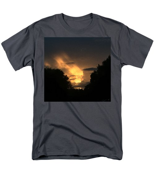 Wicked Sky Men's T-Shirt  (Regular Fit) by Audrey Robillard