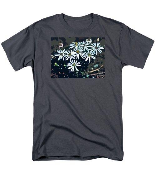 Men's T-Shirt  (Regular Fit) featuring the photograph Wild Daisy Art  by Juls Adams