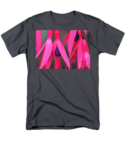Men's T-Shirt  (Regular Fit) featuring the photograph Wild Oregon Fuchsia  by Michele Penner