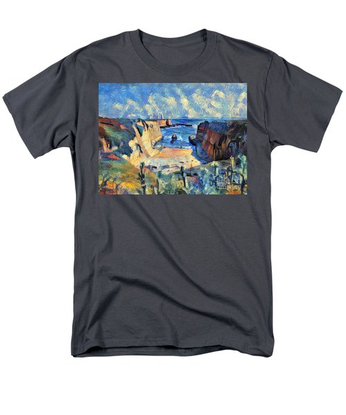 Wilder Ranch Trail Men's T-Shirt  (Regular Fit) by Denise Deiloh