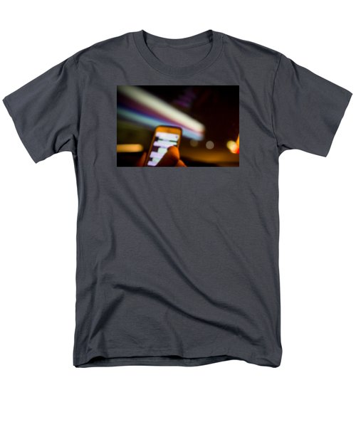 Will Be At Home In 5 Minutes Men's T-Shirt  (Regular Fit) by Cesare Bargiggia