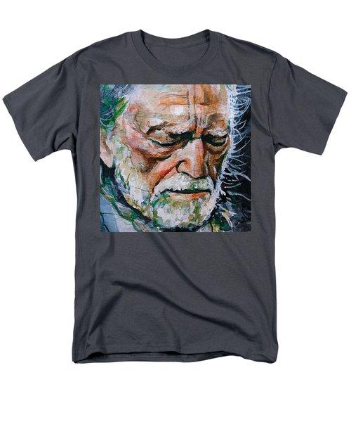 Willie Nelson 7 Men's T-Shirt  (Regular Fit) by Laur Iduc
