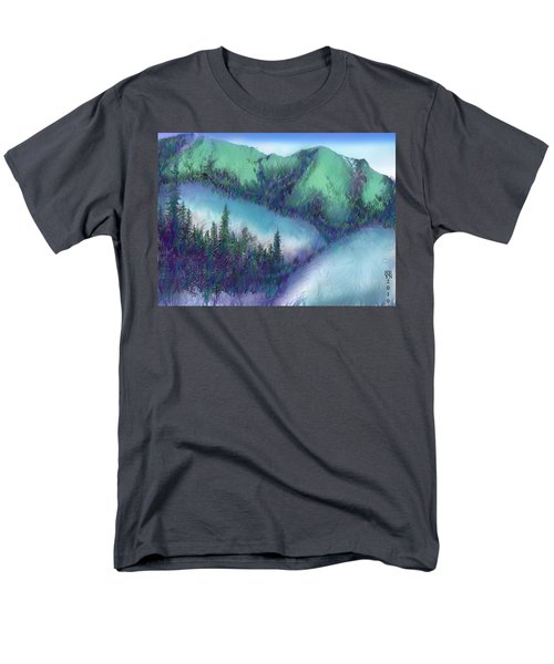 Wilmore Wilderness Area Men's T-Shirt  (Regular Fit) by Shirley Heyn