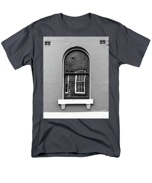 Men's T-Shirt  (Regular Fit) featuring the photograph Window And Window by Perry Webster