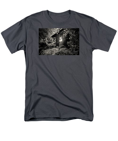 Window In The Woods Men's T-Shirt  (Regular Fit) by Randall  Cogle