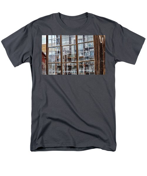 Window To The Past Men's T-Shirt  (Regular Fit) by AJ Schibig