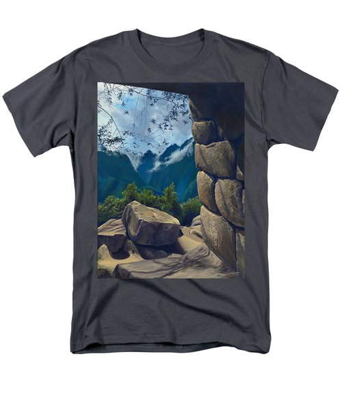 Window To The Past Men's T-Shirt  (Regular Fit)
