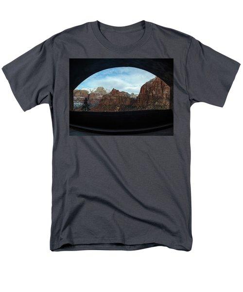 Window To Zion Men's T-Shirt  (Regular Fit)