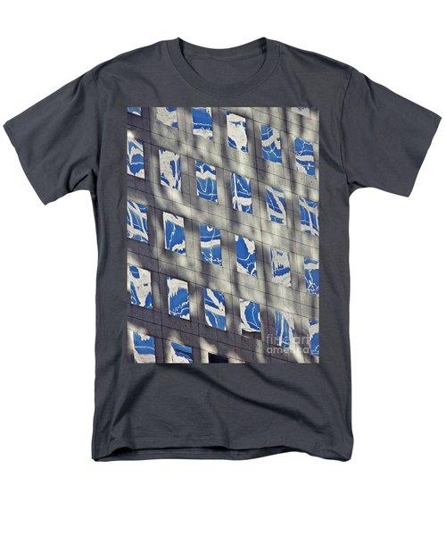 Men's T-Shirt  (Regular Fit) featuring the photograph Windows Of 2 World Financial Center 3 by Sarah Loft