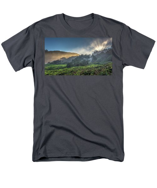 Windswept Trees On The Oregon Coast Men's T-Shirt  (Regular Fit) by Pierre Leclerc Photography