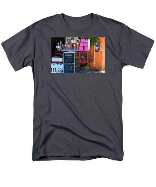 Men's T-Shirt  (Regular Fit) featuring the photograph Wine Cellar by Richard Patmore