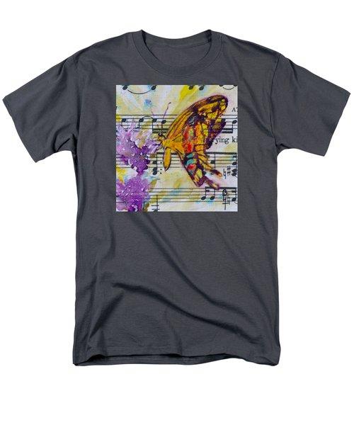 Wings II Men's T-Shirt  (Regular Fit) by Beverley Harper Tinsley