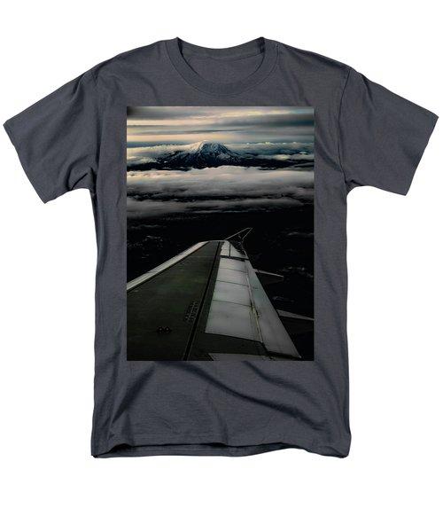 Wings Over Rainier Men's T-Shirt  (Regular Fit) by Jeffrey Jensen