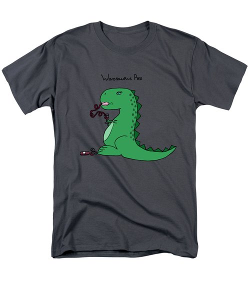 Winosaurus Rex Men's T-Shirt  (Regular Fit) by Tamera Dion