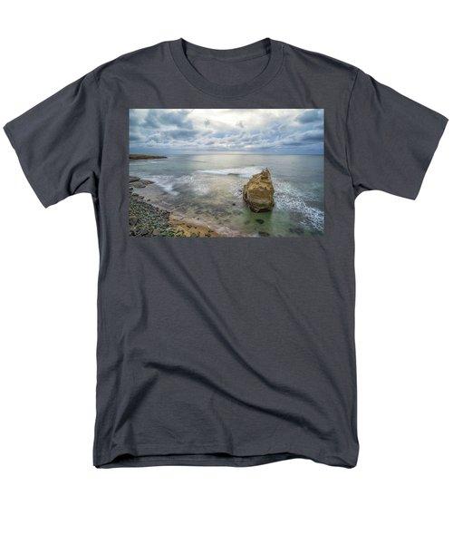 Winter At Sunset Cliffs Men's T-Shirt  (Regular Fit) by Joseph S Giacalone