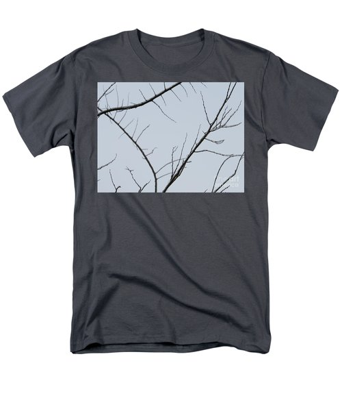 Winter Branches Men's T-Shirt  (Regular Fit) by Craig Walters