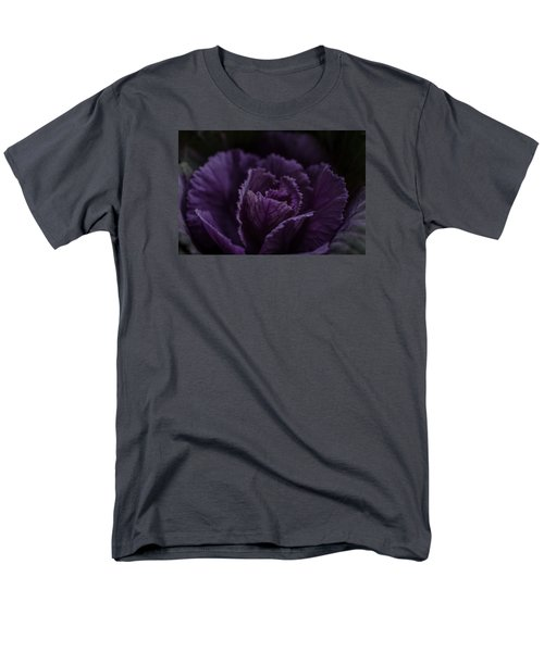 Men's T-Shirt  (Regular Fit) featuring the photograph Winter Cabbage by Cathy Donohoue