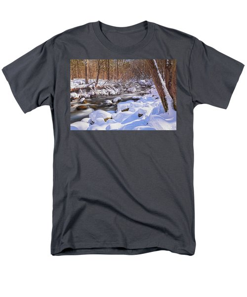 Winter Crisp Men's T-Shirt  (Regular Fit) by Angelo Marcialis