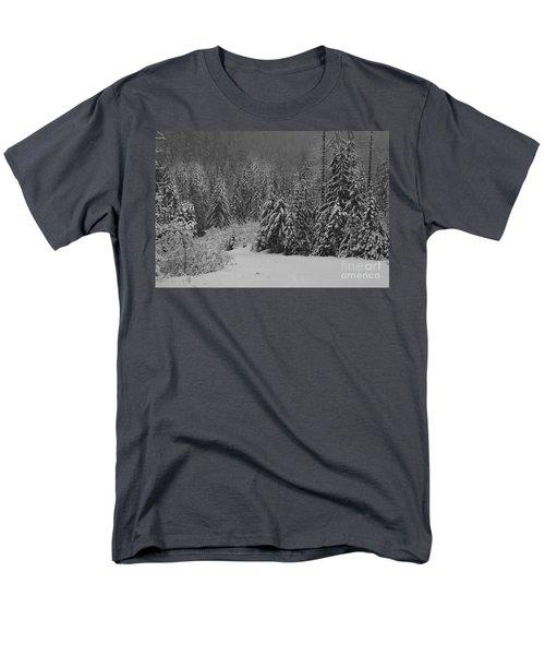 Men's T-Shirt  (Regular Fit) featuring the photograph Winter Fairy Tale by Yulia Kazansky