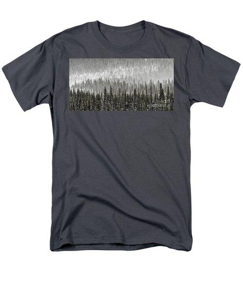 Winter Forest Men's T-Shirt  (Regular Fit) by Brad Allen Fine Art