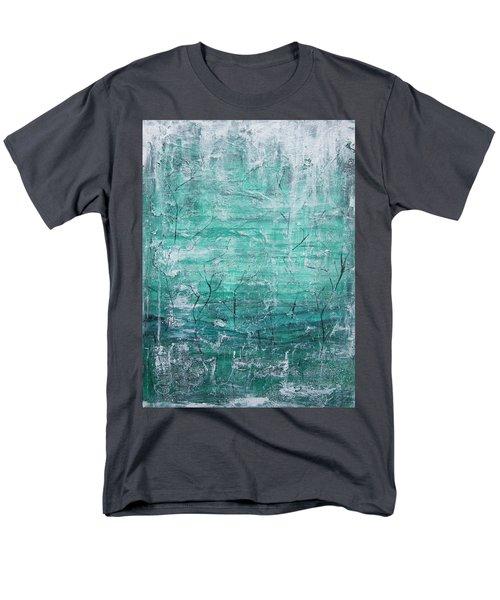 Winter Landscape Men's T-Shirt  (Regular Fit) by Jocelyn Friis