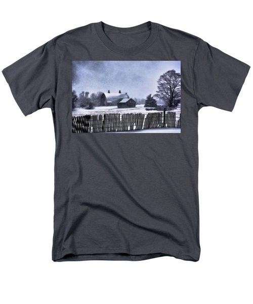 Men's T-Shirt  (Regular Fit) featuring the photograph Winter by Mark Fuller