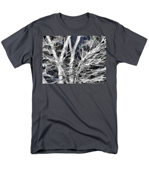 Men's T-Shirt  (Regular Fit) featuring the digital art Winter Song by Wendy J St Christopher