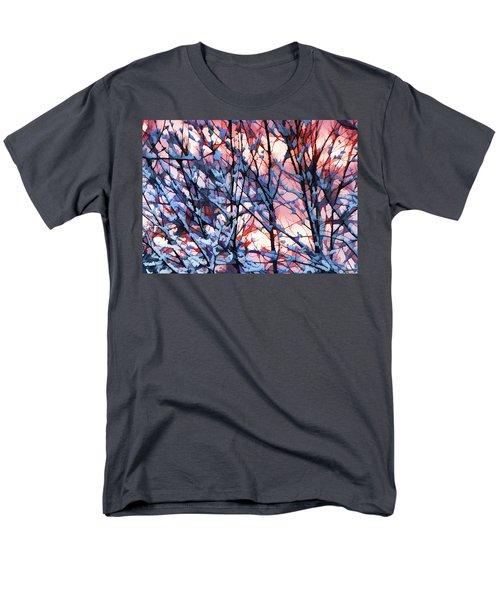 Winter Sunrise Men's T-Shirt  (Regular Fit) by Betsy Zimmerli