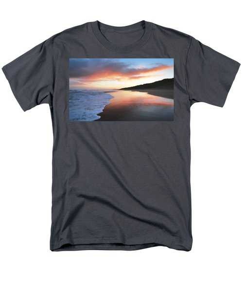 Men's T-Shirt  (Regular Fit) featuring the photograph Winter Sunrise by Roy McPeak