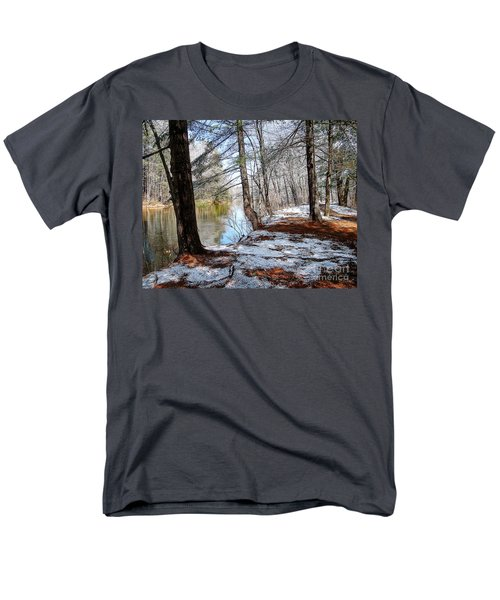 Winter's Remains Men's T-Shirt  (Regular Fit) by Betsy Zimmerli