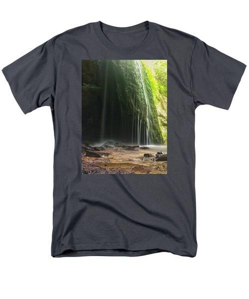 Men's T-Shirt  (Regular Fit) featuring the photograph Wisconsin Waterfall by Nikki McInnes