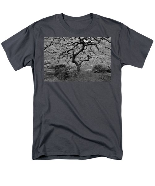 Wisdom Bw Men's T-Shirt  (Regular Fit) by Jonathan Davison