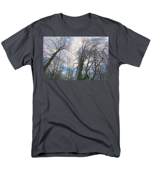 Wisdom Of The Trees Men's T-Shirt  (Regular Fit) by Angelo Marcialis