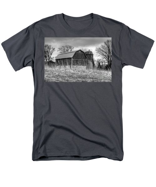 Withered Old Barn Men's T-Shirt  (Regular Fit) by Deborah Klubertanz