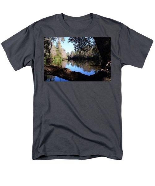 Withlacoochee Overlook Men's T-Shirt  (Regular Fit) by Warren Thompson