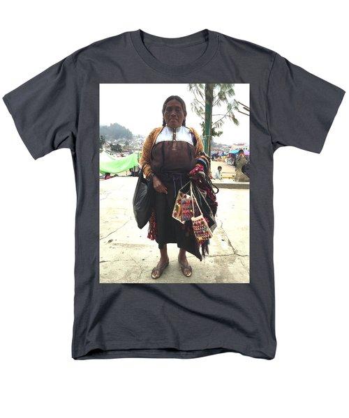 Woman In Chiapas. Men's T-Shirt  (Regular Fit) by Shlomo Zangilevitch