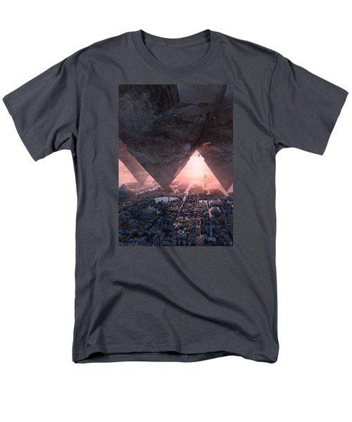 wonders great pyrimaid of Giza Men's T-Shirt  (Regular Fit) by Te Hu